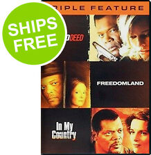 No Good Deed, Freedomland, In My Country, Samuel L Jackson Triple Feature (DVD)