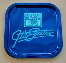 Artic Lite It's Electric Advertising tray Retro Man cave Bar