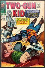TWO-GUN KID #87 1967 SHARP FN+ THUNDER STOLEN+SLICK SAWYER WANTS REVENGE!