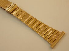 Vintage New Old Stock Gold Plated JB Champion watch band 25-26mm Extra Long
