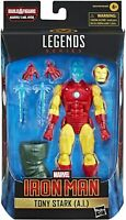 Marvel Legends Tony Stark AI Iron Man Mr Hyde BAF Shang-Chi Wave IN STOCK