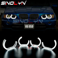 LED Angel Eyes For BMW X5 E53 Halo Rings DRL DTM M4 Style Acrylic Accessories