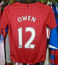 MANCHESTER UNITED 2012 HOME NIKE FOOTBALL SOCCER SHIRT TOP 12-13 YEARS #12 OWEN