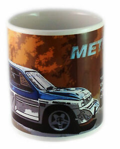 MG Metro 6R4 Rally Car Mug - the perfect gift for fans of motor sport