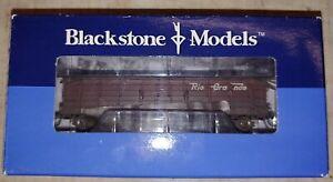 HOn3, Blackstone Models D&RGW High Side Gondola, Weathered #1133. NIB (14i)
