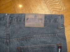 Dark Grey/Black Designer Denim Jeans As New w/o tags - Designer buttons