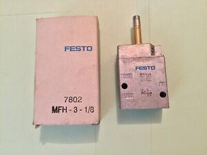 Festo MFH-3-1/8 Solenoid Valve (7802)