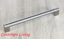 "10-7/8"" Sub Zero Style Stainless Steel Kitchen Cabinet Bar Pull Handle Hardware"