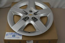 """2008 2009 2010 2011 Chevrolet Malibu 17"""" Silver 5-Spoke Wheel Cover Hub Cap OEM"""
