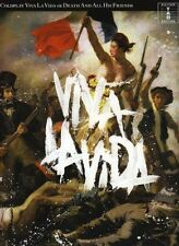 Coldplay Viva La Vida Or Death And All His Friends (Tab): Guitar and Vocal, Good
