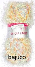 "Schoeller + Stahl ""La Ola Print""  Farbe 006 mimose 50 g"