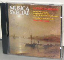 MUSICA SVECIAE CD MSCD 512: LUDVIG NORMAN - Hans Peter Frank - OOP 1989 UK SEALD