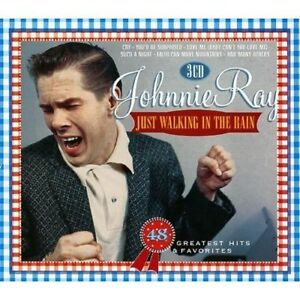 JOHNNIE RAY - JUST WALKING IN THE RAIN  - 3 CD SET - FREE POST IN THE UK