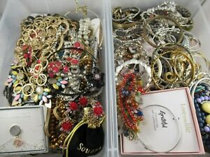 All Wearable Necklace Bracelet Bulk Costume Jewelry Lot 18 lbs Free Shipping #3