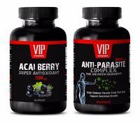 Antiaging supplement - ANTI PARASTE - ACAI BERRY COMBO 2B - acai berry cleanse