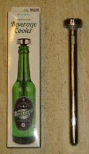 Getränkekühler aus Edelstahl, Stainless Steel Beverage Cooler in OVP
