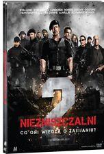 NIEZNISZCZALNI 2 (THE EXPENDABLES 2) - BOOKLET DVD