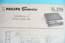 Service for Philips EL 3794 For 3300 ,ORIGINAL