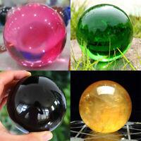 40MM Natural Sphere Quartz Rare Crystal Ball Healing Stone Gemstone Home Decor
