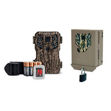 Stealth Cam 8MP Infrared Scouting Game Trail Camera w/ SD Card and Security Case