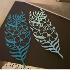 Feather Metal Cutting Dies for Craft Dies Card Making Scrapbooking Album Stencil