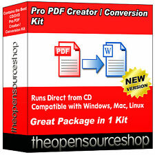 Pro PDF Creator Pack - Convert PDFs To Word & Other Document Formats In Seconds