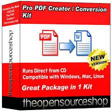 Pack Pro Pdf creador-convertir archivos Pdf A Word y otros formatos de documentos en segundos