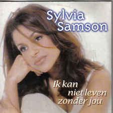 Sylvia Samson-Ik Kan Niet Leven Zonder Jou cd single