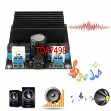 2017 100W + 100W Amplifier TDA7498 Class D Amp Subwoofer Assembled Board Module