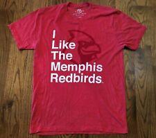 Memphis Redbirds MiLB Baseball 108 Stitches T-Shirt Men's Large NWOT