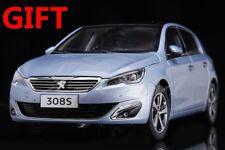 Car Model Peugeot 308S 1:18 (Blue) + SMALL GIFT!!!!!!!!!!!