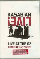 Kasabian - Live! - Live At The O2 - LONDON 15/12/2011 - DVD & CD - NEW