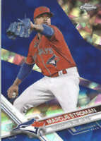 MARCUS STROMAN 2017 TOPPS CHROME SAPPHIRE EDITION #147 ONLY 250 MADE
