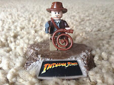Lego Indiana Jones Minifigure Rare Retired gun hat whip satchel 7623 7622 7198