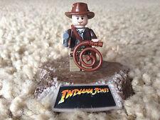 Lego Indiana Jones Minifigure Rare Retired pistol gun hat whip satchel 7623 7622