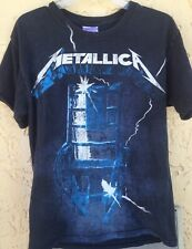 Vintage Metallica Ride The Lightning Hard To Find  T-Shirt Size M