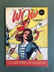 Wow Comics  Vol.7 No.42  1946  Fawcett Pub.