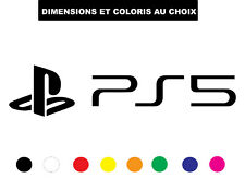 Sticker PS5 SONY Jeux vidéo Playstation Autocollant Adhesif r Deco