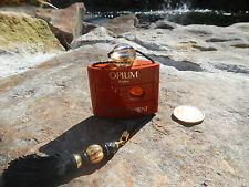 Opium Parfum Perfume Yves Saint Laurent 1/4 Fl Oz New w/o box Old style
