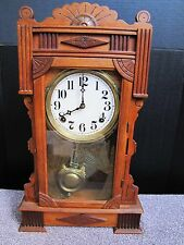 Antique Will L Gilbert Calpe Kitchen Clock.
