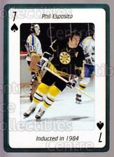 2006 Hockey Hall Of Fame Playing Card #7 Phil Esposito