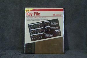 Aigner Key File - Book Style Key Organizer up to 36 keys holder New Sealed.