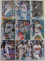 LOS ANGELES DODGERS ⚾ 2020 TOPPS SERIES 1 BASEBALL 17 CARD TEAM SET WITH 3 RC