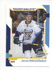 2016-17 Toledo Walleye (ECHL) Jacob MacDonald (Binghamton Devils)