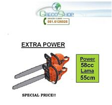 Doppia/2 pezzi Motosega per potatura 58cc lama 55cm - Super Offerta Limitata!!!