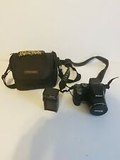 Nikon COOLPIX P100 10.3MP 26x Optical Zoom Digital Camera W/Case (Please Read)