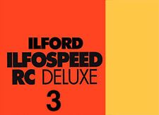 Ilford Ilfospeed RC De Luxe 3 10x15/100f  24M Satinata - Carta Fotografica B/N
