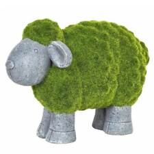 La Hacienda Flocked Sheep Garden Ornament Indoor Outdoor Decoration