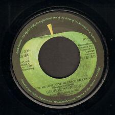 "GEORGE HARRISON – Give Me Love (1973 DUTCH APPLE VINYL SINGLE 7"")"