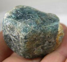 Brazil 100% Natural Raw Rough Neon Blue Apatite Specimen 268.30ct or 53.65g